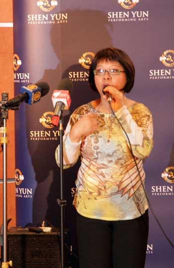 Ведущая ток-шоу местной вьетнамской радиостанции осудила действия китайских дипломатов. Фото: minghui.ca