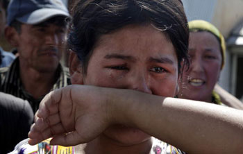 Массовые беспорядки в Киргизии.Фото: VICTOR DRACHEV/AFP/Getty Images