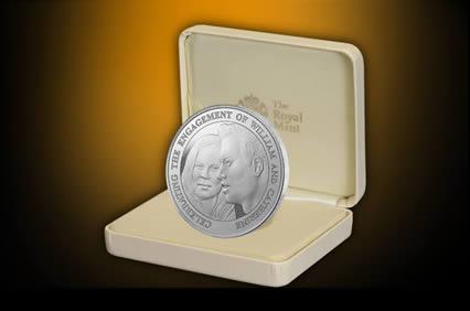 Помолвка принца Уильяма отмечена выпуском новой британской монеты. Фото с сайта  royalmint.com