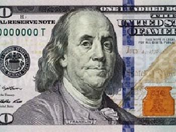 Фрагмент новой 100-долларовой купюры. Изображение с newmoney.gov