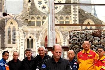 Новая Зеландия через неделю после землетрясения. Фото: Cameron Spencer /Getty Images