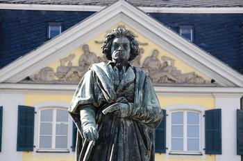 Памятник Бетховену в Бонне. Фото: Matthias Kehrein