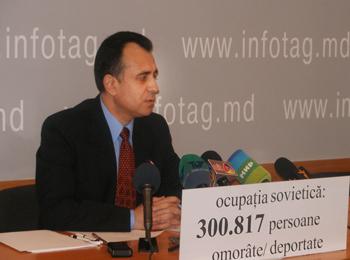 Член Комиссии по изучению и оценке коммунистического режима, доктор исторических наук Вячеслав Стэвилэ. Фото: infotag.md