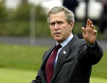 Джордж Буш. Фото с amstd.spb.ru