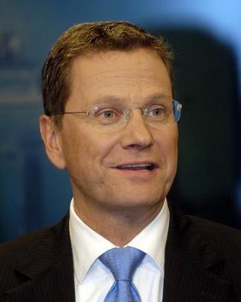 Министр иностранных дел Федеративной Республики Германия Гидо Вестервелле. Фото с taschkent.diplo.de