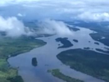 Панорама Амазонии. Скриншот из видео The Guardian