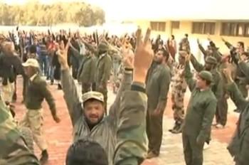 Войска ливийских повстанцев. Фото с ZN.UA