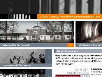 Скриншот с сайта buchenwald.de
