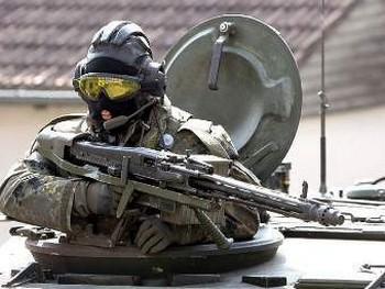 Германия сокращает срочную службу. Фото с bundeswehr.de