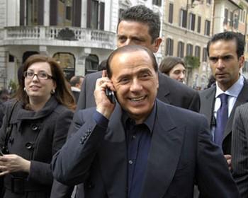 Премьер-министр Италии Сильвио Берлускони. Фото: podrobnosti.ua