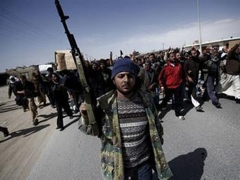Ливийская оппозиция. Фото с webground.su