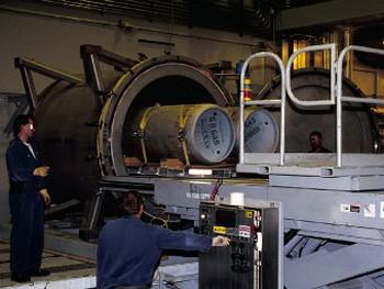 Предприятие по уничтожению химоружия в США. Фото с army.mil