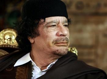 Муаммар Каддафи. Фото с caucase.wordpress.com