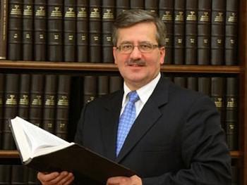 Бронислав Коморовский приступил к обязанностям президента Польши. Фото с bronislawkomorowski.pl