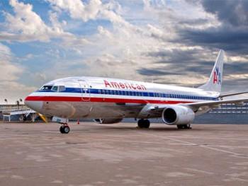 Boeing 737 авиакомпании American Airlines. Фото с americanairlines.jp