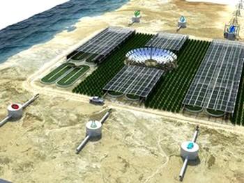 Схема проекта «Лес Сахары» в Акабе. Фото: sahara-jordan