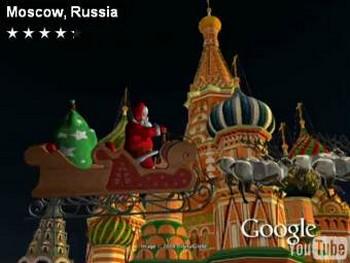 Кадр из видео с noradsanta.org