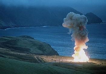 Пуск американской баллистической ракеты Minuteman III. Фото с fas.org