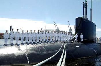 Американская подводная лодка. Фото: novoskop.ru