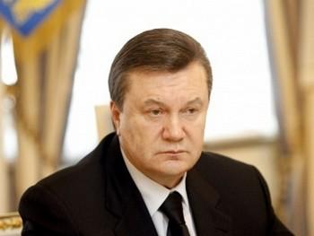 Виктор Янукович. Фото с сайта президента Украины.