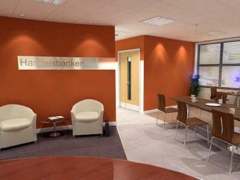 Отделение Handelsbanken. Фото с tdainteriors.org