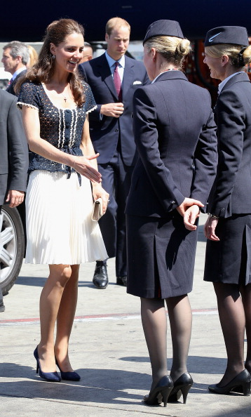 Герцог и герцогиня Кембриджские завершили свое зарубежное турне. Фото: Chris Jackson - Pool/Getty Images