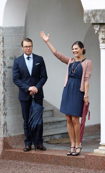 Фоторепортаж о праздновании дня рождения шведской кронпринцессы Виктории