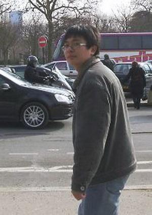 Китайский турист, совершивший нападение на центр, (фото предоставлено пострадавшим)