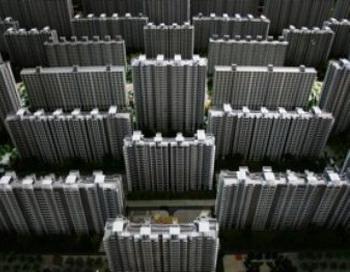 Китай. Миниатюрная модель микрорайона в Китае (Фото Getty Images)