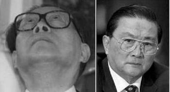 Цзян Цзэминь (слева) и Ло Гань скоро предстанут перед международным судом за геноцид в отношении последователей Фалуньгун