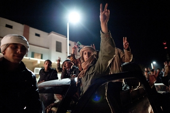 В Ливии не осталось ни одного признанного правительства. Фото: Staff: FRED DUFOUR /AFP/Getty  Images