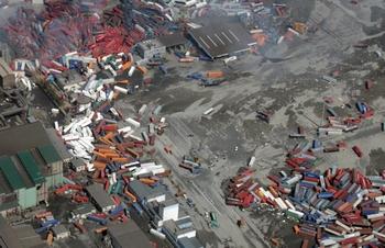 Для  ликвидации последствий землетрясения Япония выделит 50  миллиардов долларов. Фото: AFP PHOTO / NOBORU HASHIMOTO