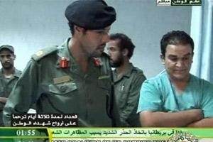 Ливийское телевидение показало съемки сына Каддафи Хамиса. Фото: derstandard.at