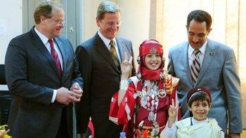 Вестервелле посетил Ливию. Фото с n-tv.de