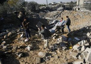 Израиль нанес новые авиаудары по сектору Газа.Фото с econo.com.ua