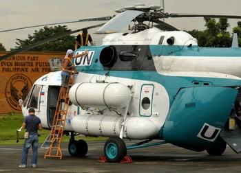 Шри-Ланка приобретет  у России вертолеты   Ми-171. Фото:JAY DIRECTO/AFP/Getty Images