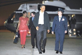 Барак Обама посетит родину своих предков - Ирландию. Фото: JEWEL SAMAD/AFP/Getty Images