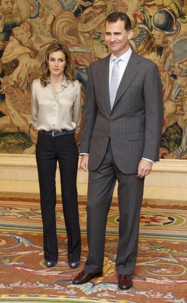 Фоторепортаж о посещении принцем Филлипе и принцессой Литицией дворца Сарсуэлы. Фото: Carlos Alvarez/Getty Images