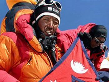 Непалец покорил Эверест в 21-й раз. Фото с shortnews.de