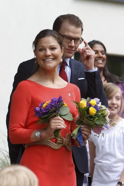 Фоторепортаж о посещении школы в Берлине шведской принцессой Викторией. Фото:Хеннинг Schacht-Pool/Getty Images