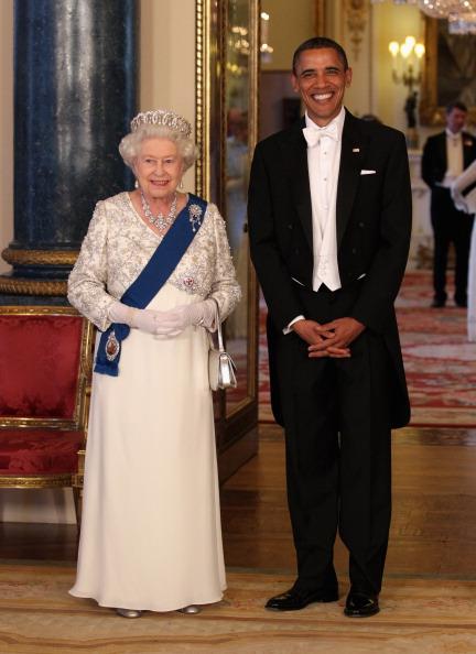 Банкет в честь визита президента США был дан в Букингемском дворце. Фото:Chris Jackson - WPA Pool/Getty Images