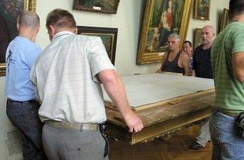 Шведский лесоруб  разбогател на картине Айвазовского. Фото с delfi.ua