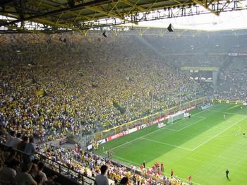 Немецкая полиция предотвратила взрыв на стадионе в Дортмунде. Фото с dortmund-leverkusen.de.tl