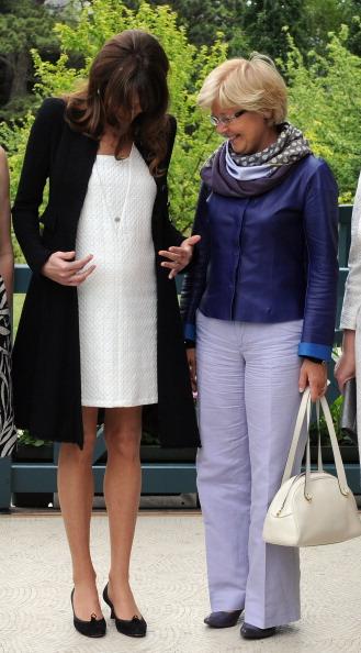 Первая леди Франции Карла Бруни-Саркози ждет ребенка. Фото: ranck Prevel/Getty Images