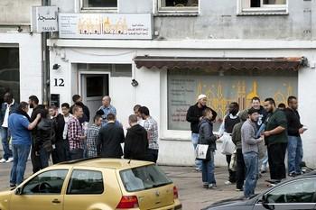 Мечеть Тавба в Гамбурге является местом встречи участников запрещенного движения «Хизб ут-Тахрир «(ХуТ). Фото с сайта welt.de