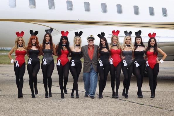 Фоторепортаж  об открытии нового   Playboy Club в Англии. Фото: Dan Kitwood/Getty Images