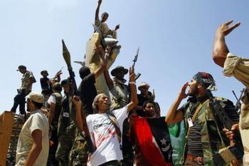 Новая эра в Ливии Фото: abendblatt.de