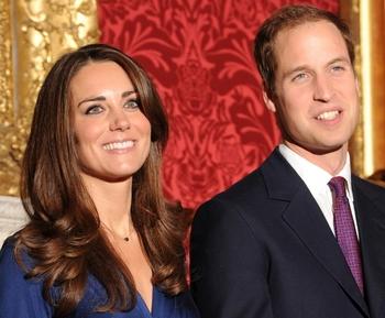 Принц Уильям и Кейт Миддлтон вступают в брак. Фото: BEN STANSALL/AFP/Getty Images