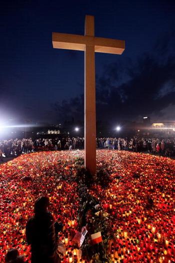 Жизнь и смерть президента Польши Леха Качиньского. Фото: Sean Gallup/Getty Images