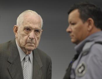 Аргентинский диктатор Рейнальдо Биньоне. Фото: JUAN MABROMATA/AFP/Getty Images